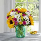 Sunlit Meadows Fresh Flower arrangment