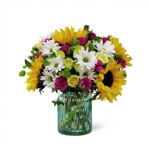 Sunlit Meadows vase