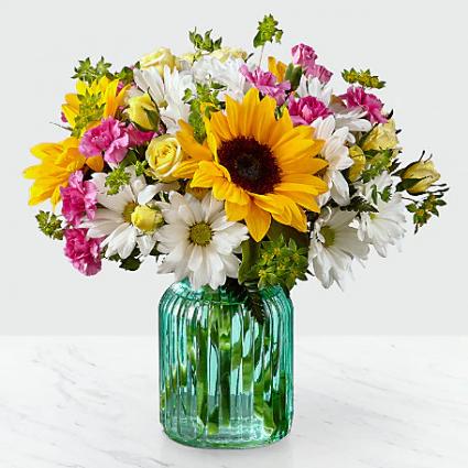 Sunlit Meadows Vase Arrangement