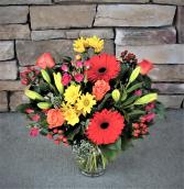Sunlit Spectacular Vase Arrangement