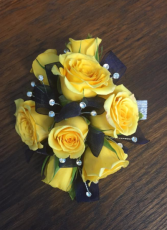 Sunny and Bright Corsage Wrist Corsage
