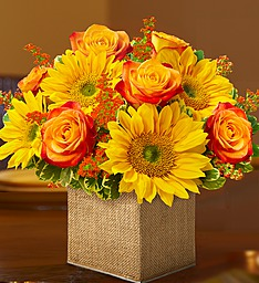 Sunny Autumn Sunflower Bouquet  in Fair Lawn, NJ | DIETCH'S FLORIST