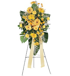 SUNNY BLESSINGS  FUNERAL SPRAY