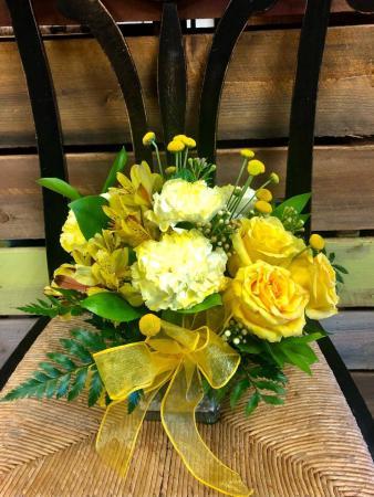 Sunny Bliss Flower Arrangement