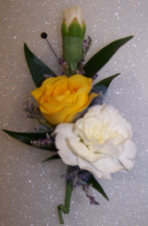 Sunny Blooms  Boutonniere