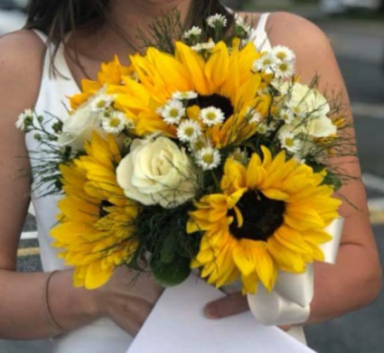 Sunny Bridal Bouquet In Elkton Md Fair Hill Florist