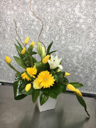 Sunny Charm Bouquet  Mixed Bouquet