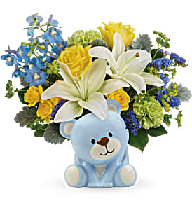 Sunny Cheer Bear Bouquet T602-5A