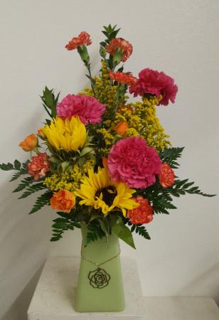 Sunny Day Bouquet Flower Arrangement