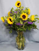 Sunny Day Bouquet Sunflowers