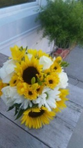 Sunny day Bridal bouquet