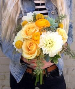 Sunny Days Handtied Bouquet