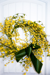 Sunny Days Silk Wreath