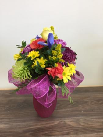 Warm wishes Vase arrangement