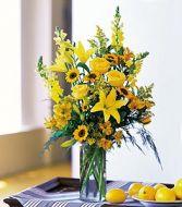 Sunny Days  Vase Arrangement