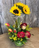 Sunny Daze Floral Arrangement