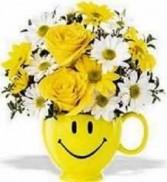 Sunny Delight Arrangement Floral Arrangement