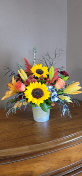 Sunny delight Fresh arrangement
