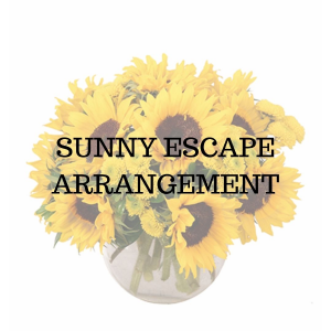 Sunny Escape Flower Arrangement in Huntington, TX | LIZA'S GARDEN