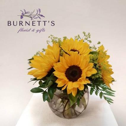Sunny Flowers  Vase Arrangement