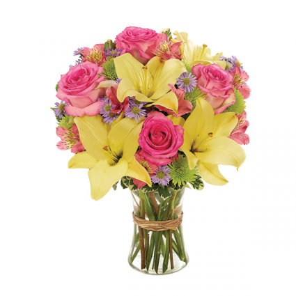 Sunny Lily Bouquet Everyday