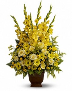Sunny Memories Flower Arrangement