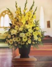 Sunny Memories funeral flowers
