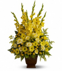 Sunny Memories Sympathy Arrangement