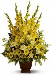 Sunny Memories Funeral Arrangement