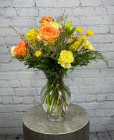 Sunny Morning Vase Arrangement