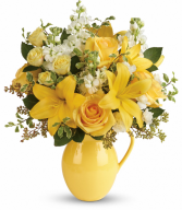 Sunny Outlook Bouquet All-Around Floral Arrangement