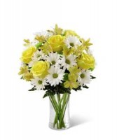 Sunny Sentiments Bouquet Vased Arrangement