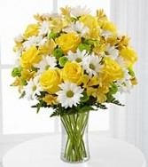 Sunny Sentiments Fresh Flowers