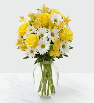 Sunny Sentiments  Vase arrangement