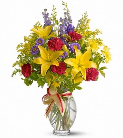 Sunny Side Floral Arrangement
