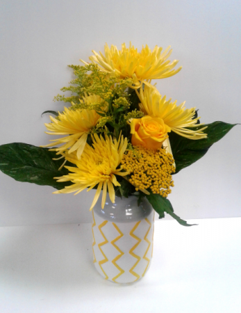 Sunny Side Up! Fresh Flowers