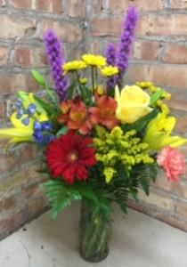 Sunny Skies  Birthday Flowers