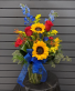 Sunny Skies Fresh Vase Arrangement