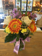 Sunny Skies Fresh Floral Arrangement
