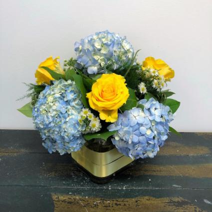 Sunny Skies Vase Arrangement