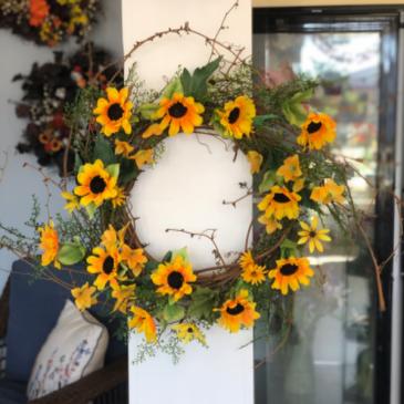 Sunny Skies Wreath