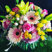 SUNNY & BRIGHT  BUBBLE BOWL BOUQUET