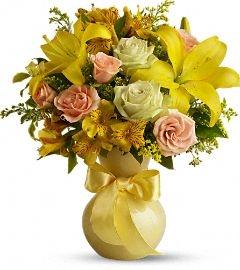 Sunny Smiles florial arrangement