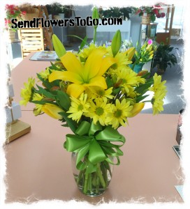 Sunny Smiles Fresh Bouquet