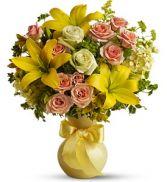 Sunny Smiles Fresh Flowers
