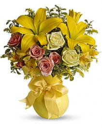 Sunny Smiles Vase Arrangement
