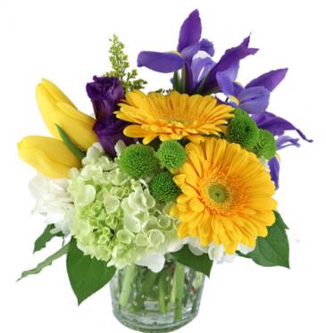 Sunny spring bouquet  Vase