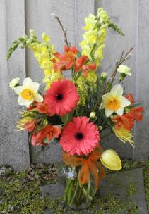 Sunny Spring  Seasonal Flowers