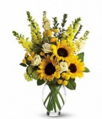 Sunny Sunflower Kinda Day GFFG Arrangement