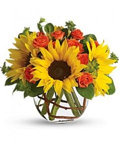 Sunny Sunflowers Bouquet in Jasper, TX | BOBBIE'S BOKAY FLORIST